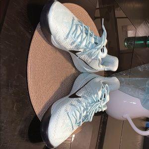 Turquoise Nike Kobe shoes